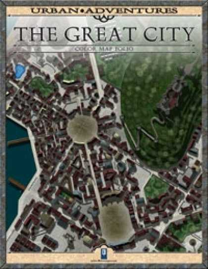 Role Playing Games - The Great City: Color Map Folio