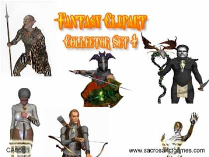 Role Playing Games - Fantasy Clipart Collection 1