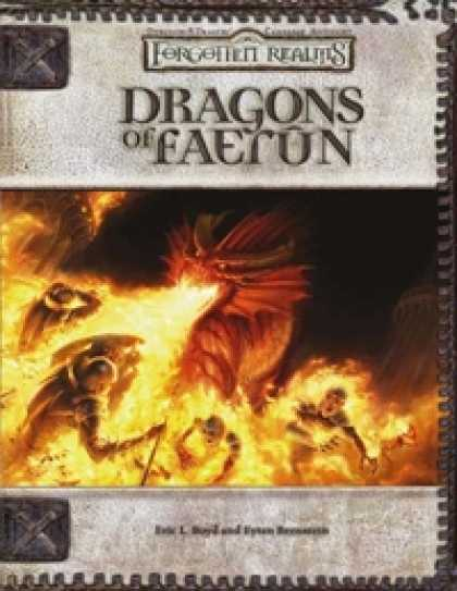 Role Playing Games - Dragons of Faerûn