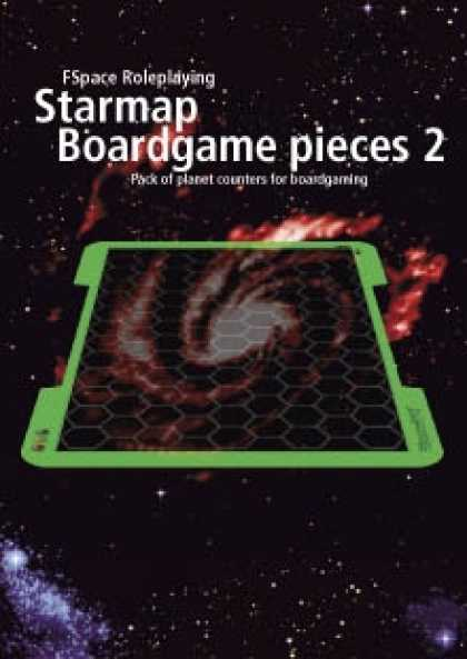 Role Playing Games - FSpaceRPG Starmap Boardgame pieces 2