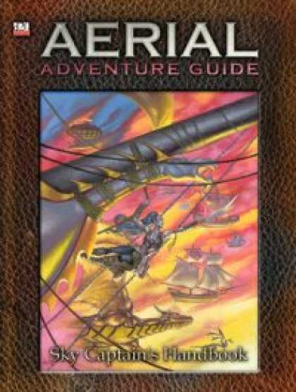 Role Playing Games - Aerial Adventure Guide: Sky Captain's Handbook