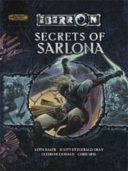 Role Playing Games - Secrets of Sarlona