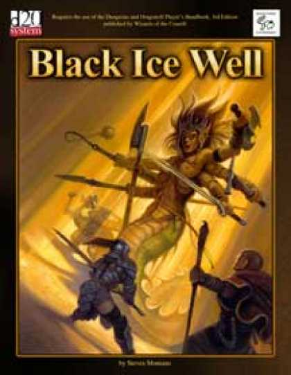 Role Playing Games - MonkeyGod Presents: Black Ice Well