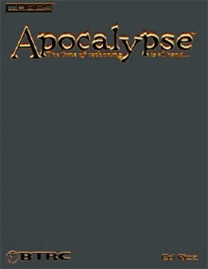 Role Playing Games - CORPS Apocalypse