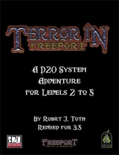 Role Playing Games - Terror in Freeport Revised