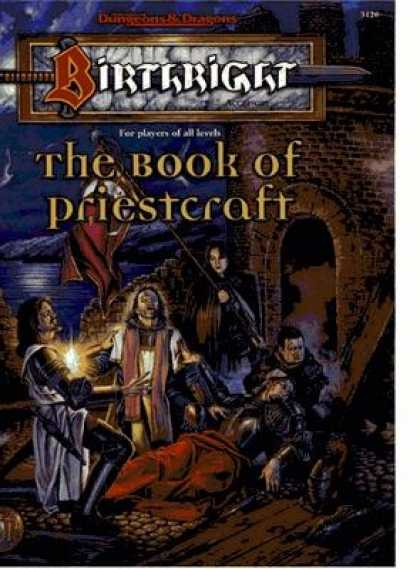 Role Playing Games - The Book of Priestcraft