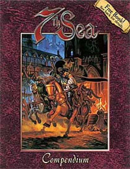 Role Playing Games - 7th Sea: Compendium