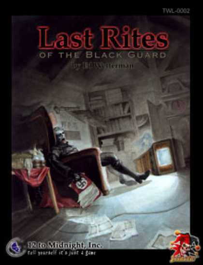 Role Playing Games - Last Rites: Savaged edition