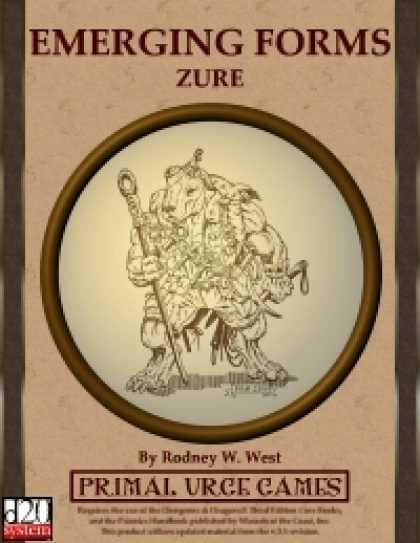 Role Playing Games - Emerging Forms - Zure