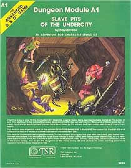 Role Playing Games - A1 - Slave Pits of the Undercity