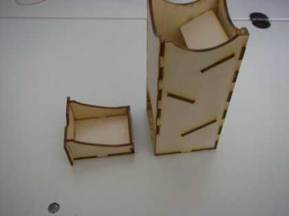 Role Playing Games - Mini Dice Tower by Blue Panther
