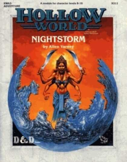 Role Playing Games - HWA3 - Nightstorm