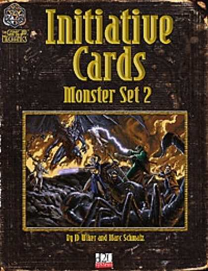 Role Playing Games - Initiative Cards: Monster Set 2