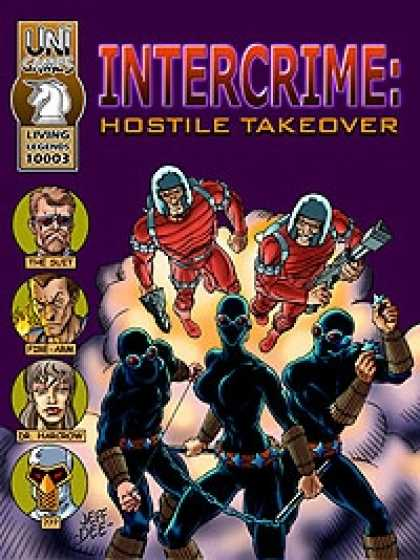 Role Playing Games - Intercrime: Hostile Takeover