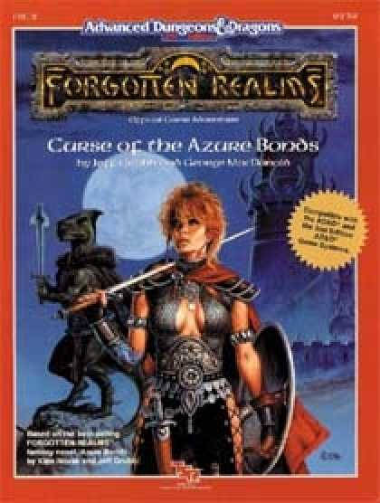 Role Playing Games - Curse of the Azure Bonds