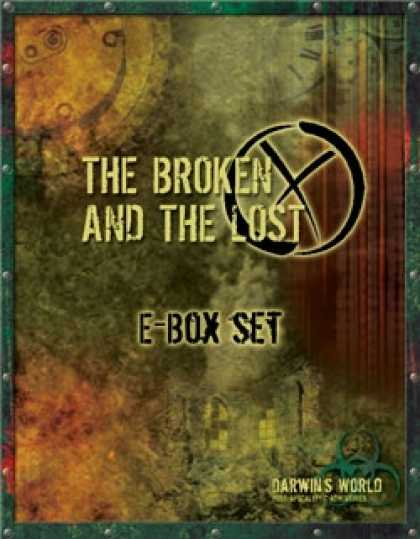 Role Playing Games - Darwin's World: The Broken and The Lost (eBox Set)