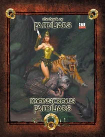Role Playing Games - Monstrous Familiars