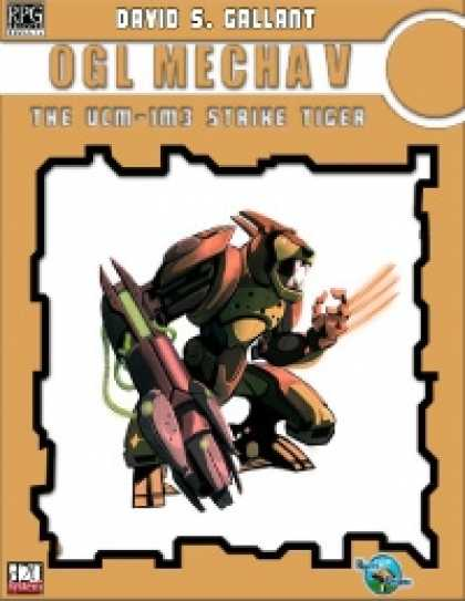 Role Playing Games - RDP: OGL Mecha 5: the UCM IM3 Strike Tiger