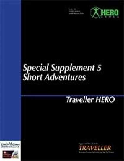 Role Playing Games - Traveller Hero - Special Supplement 5: Short Adventures