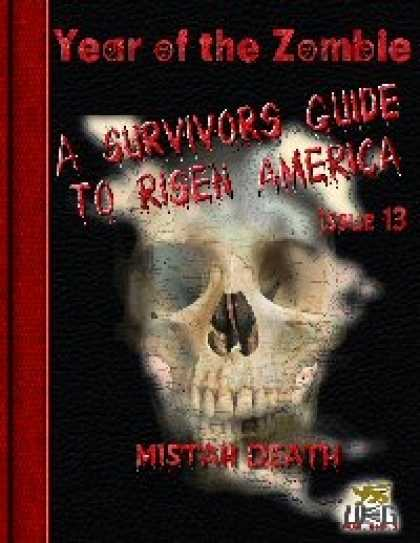 Role Playing Games - Year of the Zombie: A Survivors Guide to Risen America - Issue 13