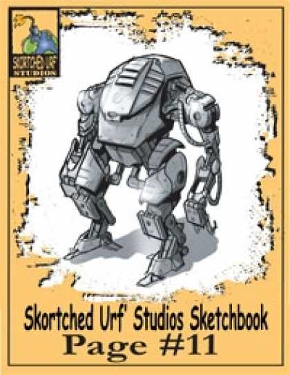Role Playing Games - Skortched Urf' Studios Sketchbook Page #11: Mecha Suit