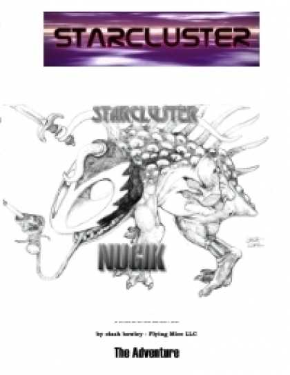 Role Playing Games - StarCluster - The Nugik Adventure