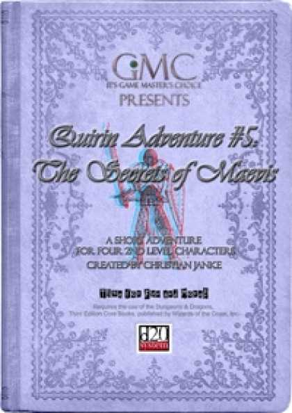 Role Playing Games - Quirin Adventure #5: The Secrets of Maevis