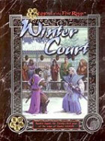 Role Playing Games - Winter Court: Kyuden Seppun