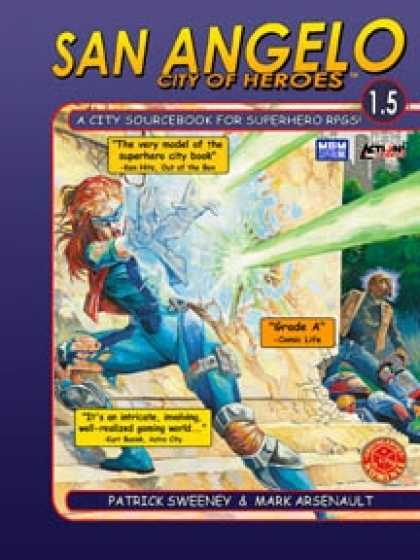 Role Playing Games - San Angelo: City of Heroes 1.5 (M&M Superlink, Action!)