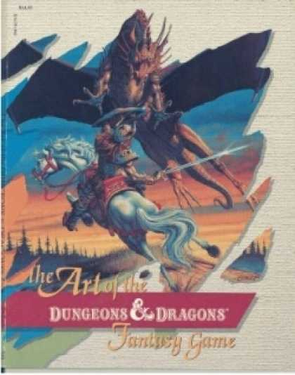 Role Playing Games - The Art of the Dungeons & Dragons Fantasy Game