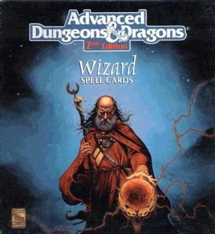 Role Playing Games - Deck of Wizards Spells