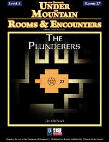 Role Playing Games - Rooms & Encounters: The Plunderers