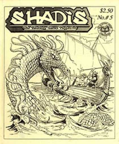 Role Playing Games - Shadis #5