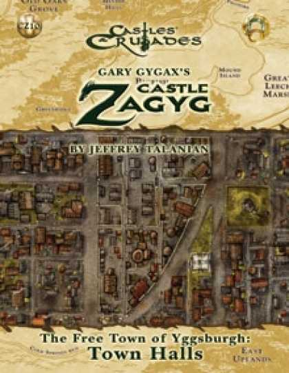 Role Playing Games - Castle Zagyg Yggsburgh Expansion: Town Halls