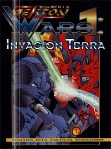 Role Playing Games - Mekton Wars: Invasion Terra
