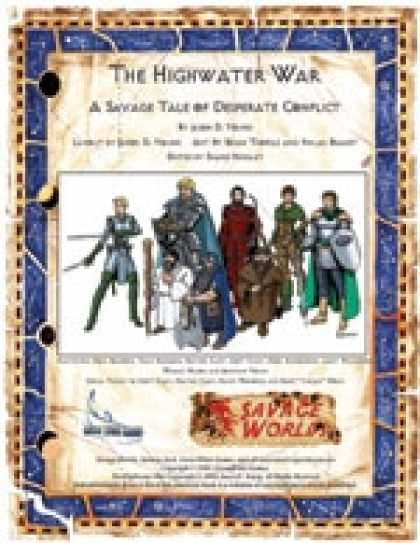 Role Playing Games - Savage Tales #7: The Highwater War