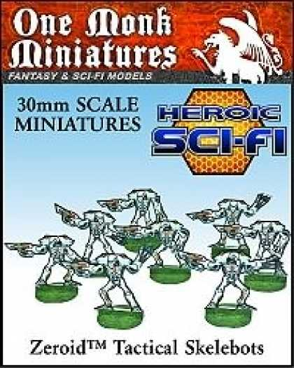 Role Playing Games - Heroic Sci-Fi Tactical Skelebots