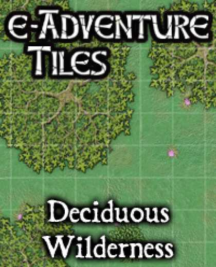 Role Playing Games - e-Adventure Tiles: Deciduous Wilderness