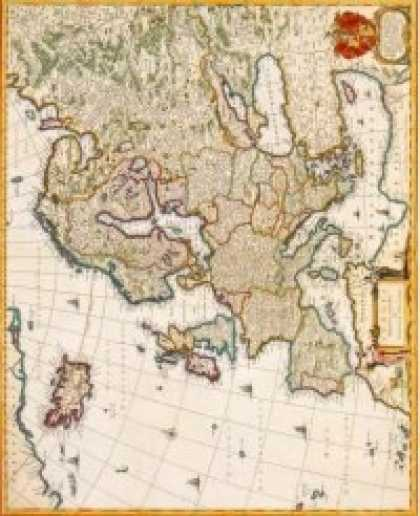 Role Playing Games - Antique Maps II - Europe of the 1600's
