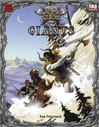 Role Playing Games - Slayer's Guide to Giants