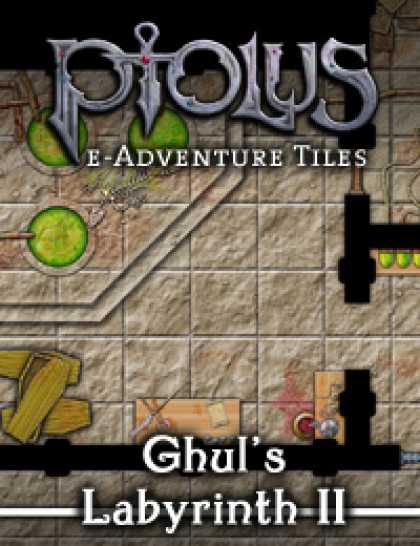Role Playing Games - Ptolus e-Adventure Tiles: Ghul's labyrinth II