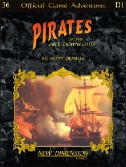Role Playing Games - Pirates: Downloads Pack One--free mini-adventures