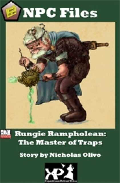 Role Playing Games - NPC Files: Rungie Rampholean
