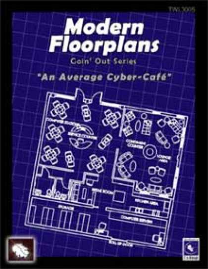 Role Playing Games - Modern Floorplans: Cyber-Cafe