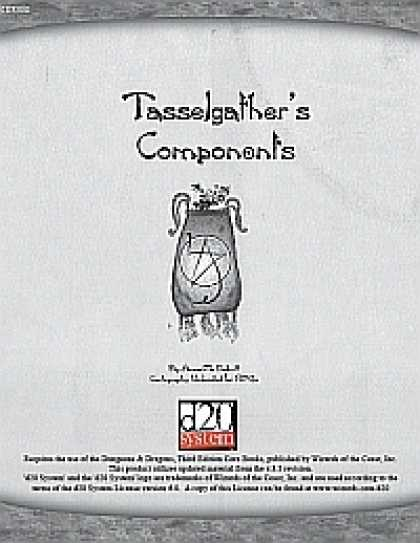 Role Playing Games - Tasselgather's Components