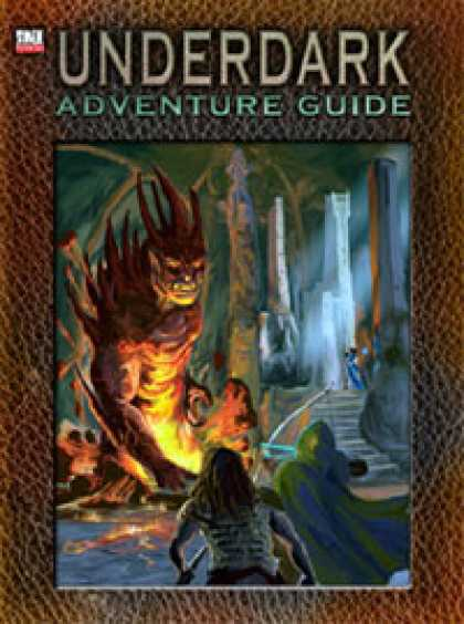 Role Playing Games - Underdark Adventure Guide