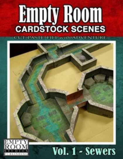 Role Playing Games - Empty Room Cardstock Scenes
