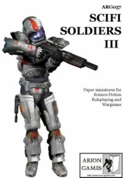Role Playing Games - Science Fiction Soldiers III Set