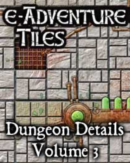 Role Playing Games - e-Adventure Tiles: Dungeon Details Vol. 3