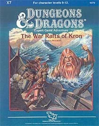 Role Playing Games - X7 - The War Rafts of Kron